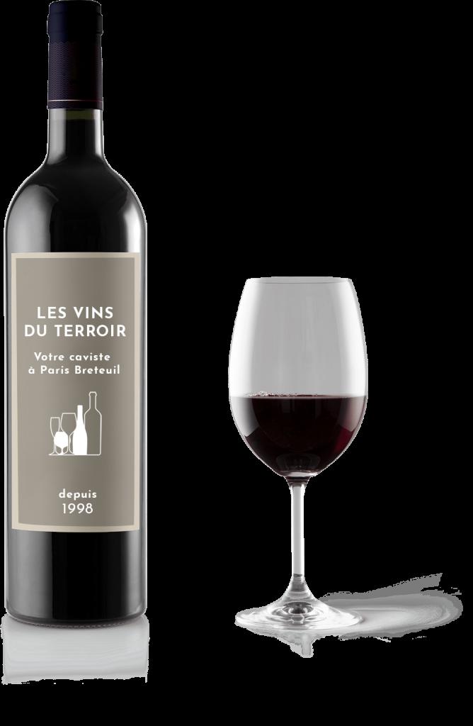 bouteille les vins du terroir